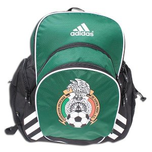 93ff14bfcd Adidas Mexico Copa Edge Backpack This one of a kind backpack is sure to be  noticed while you have it. It has many pockets to stuff your things in when  you ...